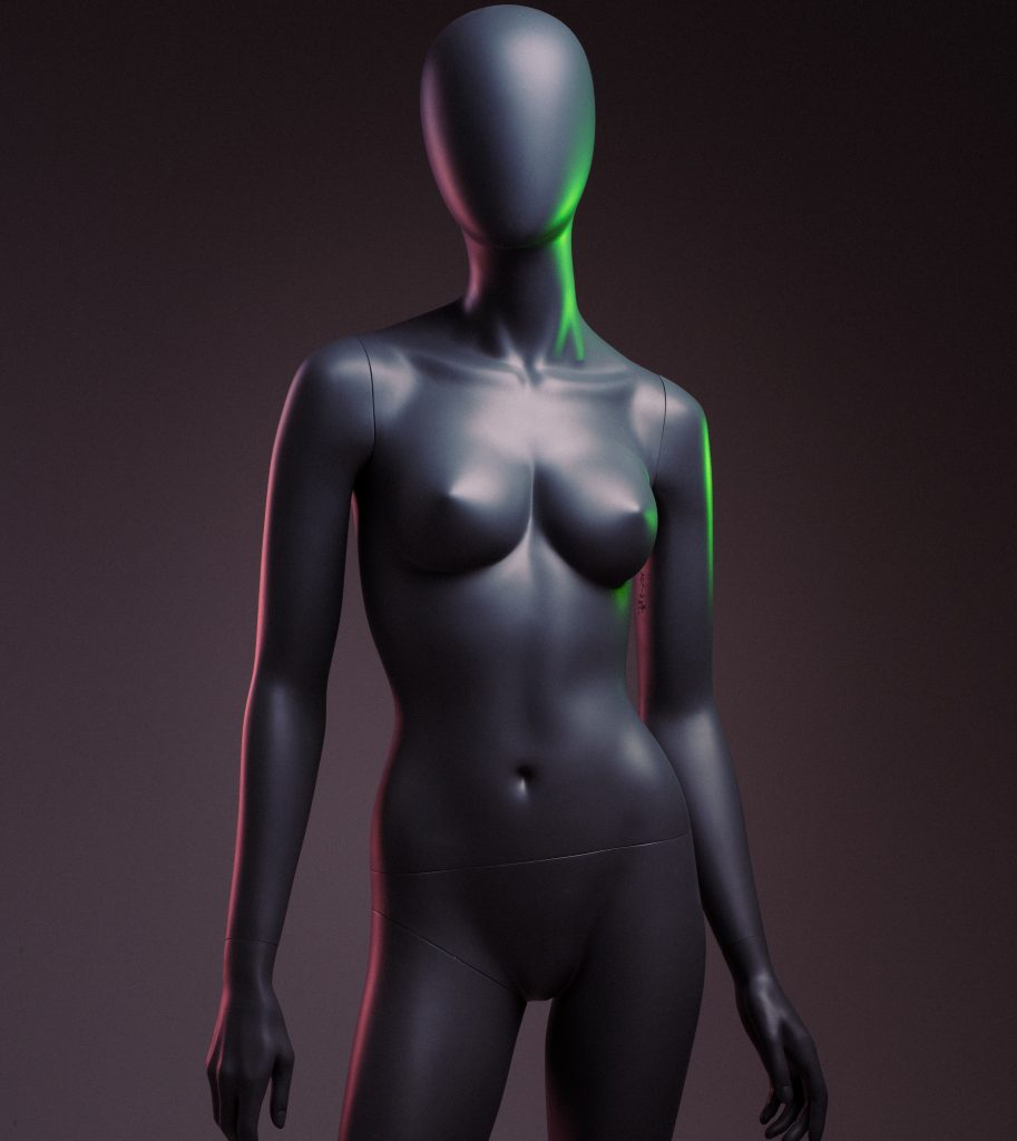 full size female mannequin